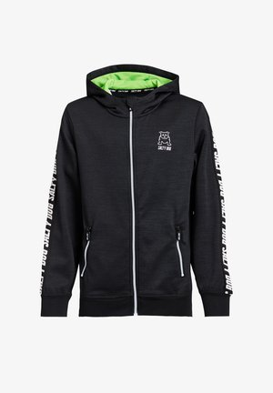 SALTY DOG - Zip-up hoodie - black