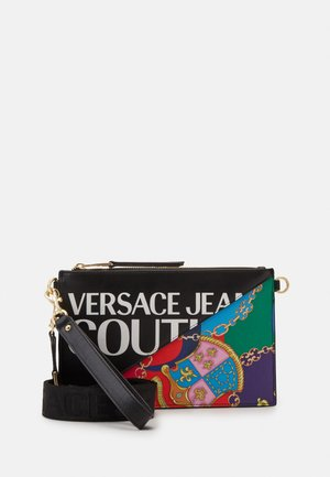 MEDIUM POUCH BAROQUE LOGO - Pochette - nero