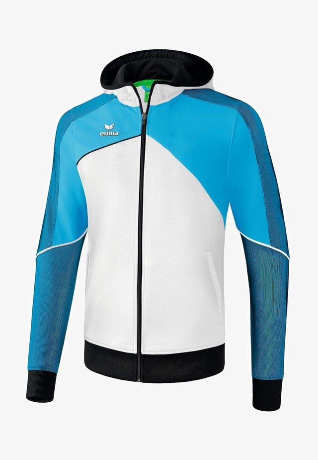PREMIUM ONE 2.0 TRAININGSKAPUZENJACKE KINDER - Training jacket - weiß / curacao