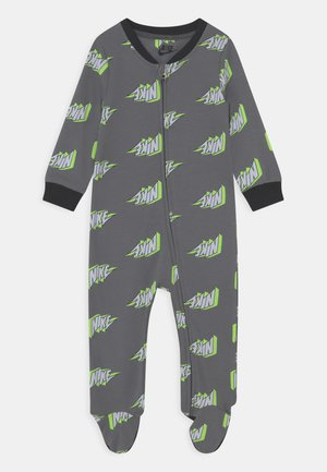 THUNDERBLOCK FOOTED COVERALL UNISEX - Grenouillère - smoke grey