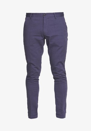 ROLF SLIM - Trousers - navy