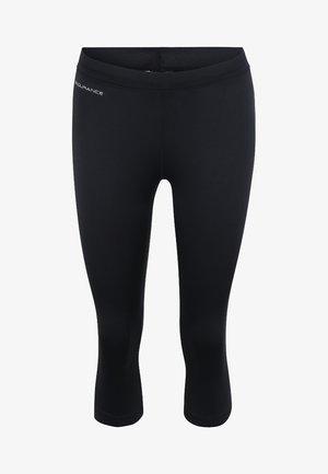 MIT REFLEKTIERENDEN HIGHLIGHTS - 3/4 sports trousers - black