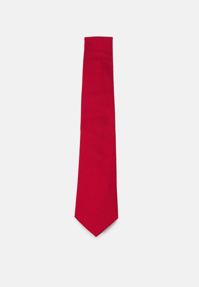 TIE - Tie - open red