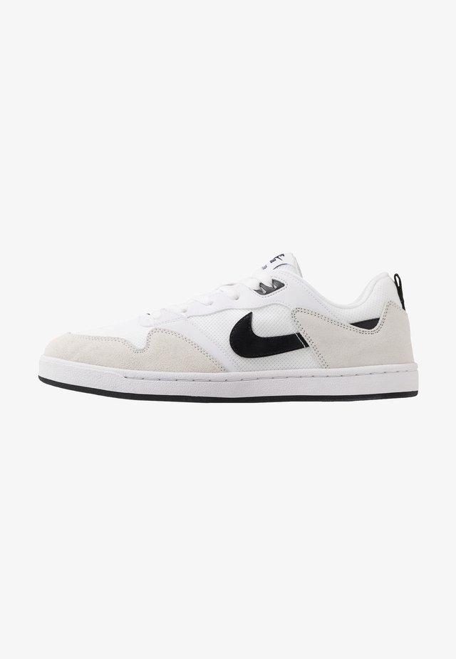 ALLEYOOP UNISEX - Chaussures de skate - white/black