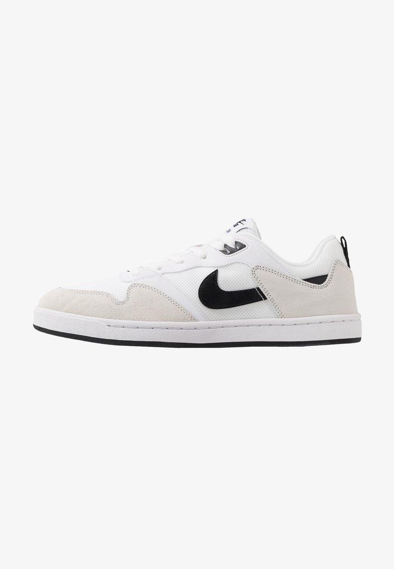 Nike SB - ALLEYOOP UNISEX - Obuwie deskorolkowe - white/black