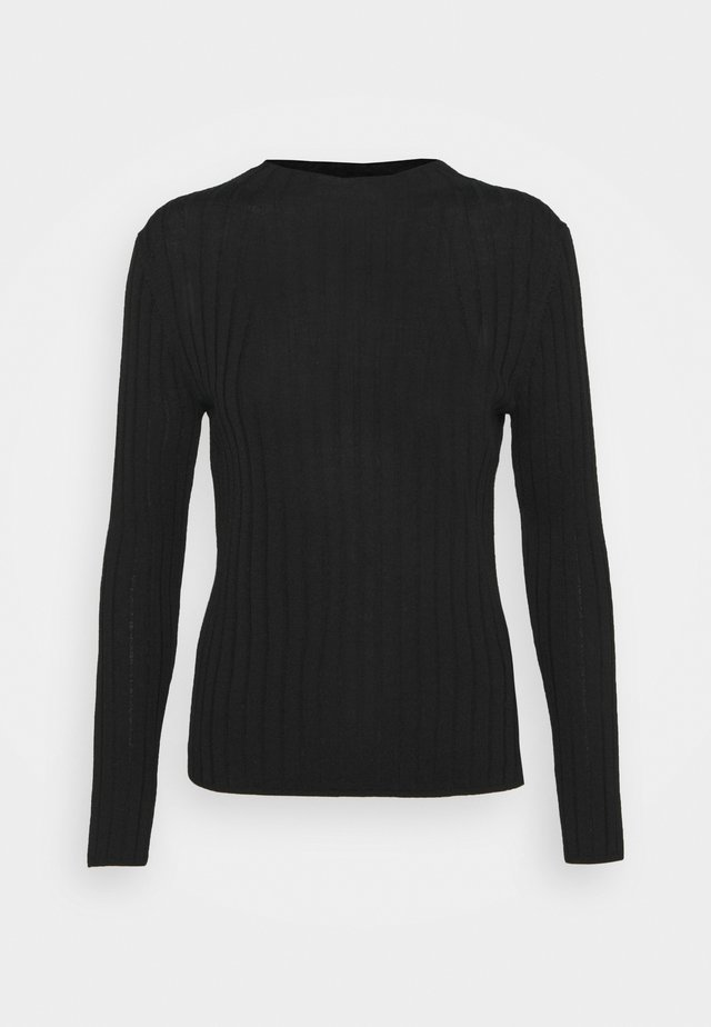 MOCKNECK SOLIDS - Jumper - black