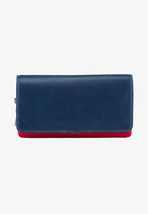 ZIPPED COIN SECTION - Wallet - blue