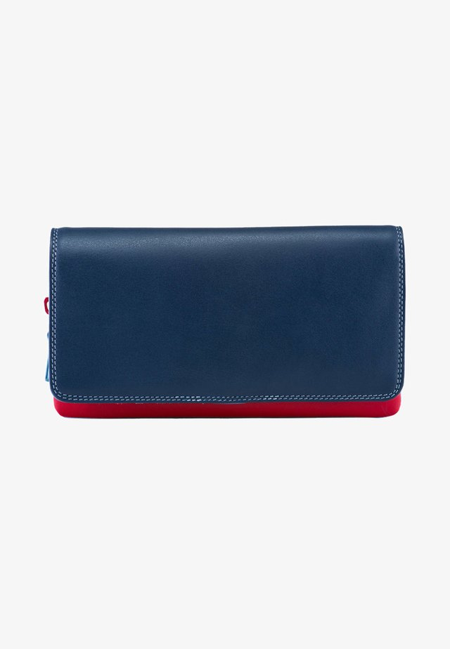 ZIPPED COIN SECTION - Portemonnee - blue