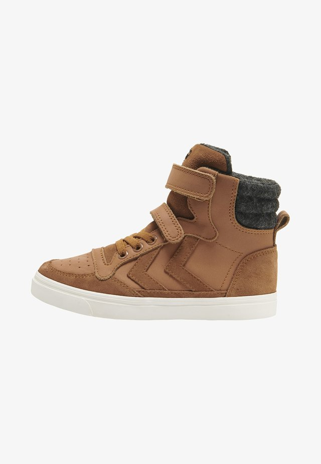 STADIL  - High-top trainers - sierra