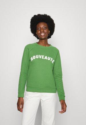 NOUVEAUTE LOGO - Sweater - green