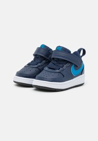 Nike Sportswear - COURT BOROUGH 2 UNISEX - Trainers - midnight navy/imperial blue/black - 1
