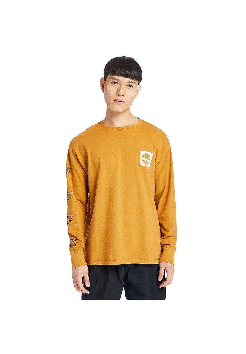Timberland - Long sleeved top - mustard yellow
