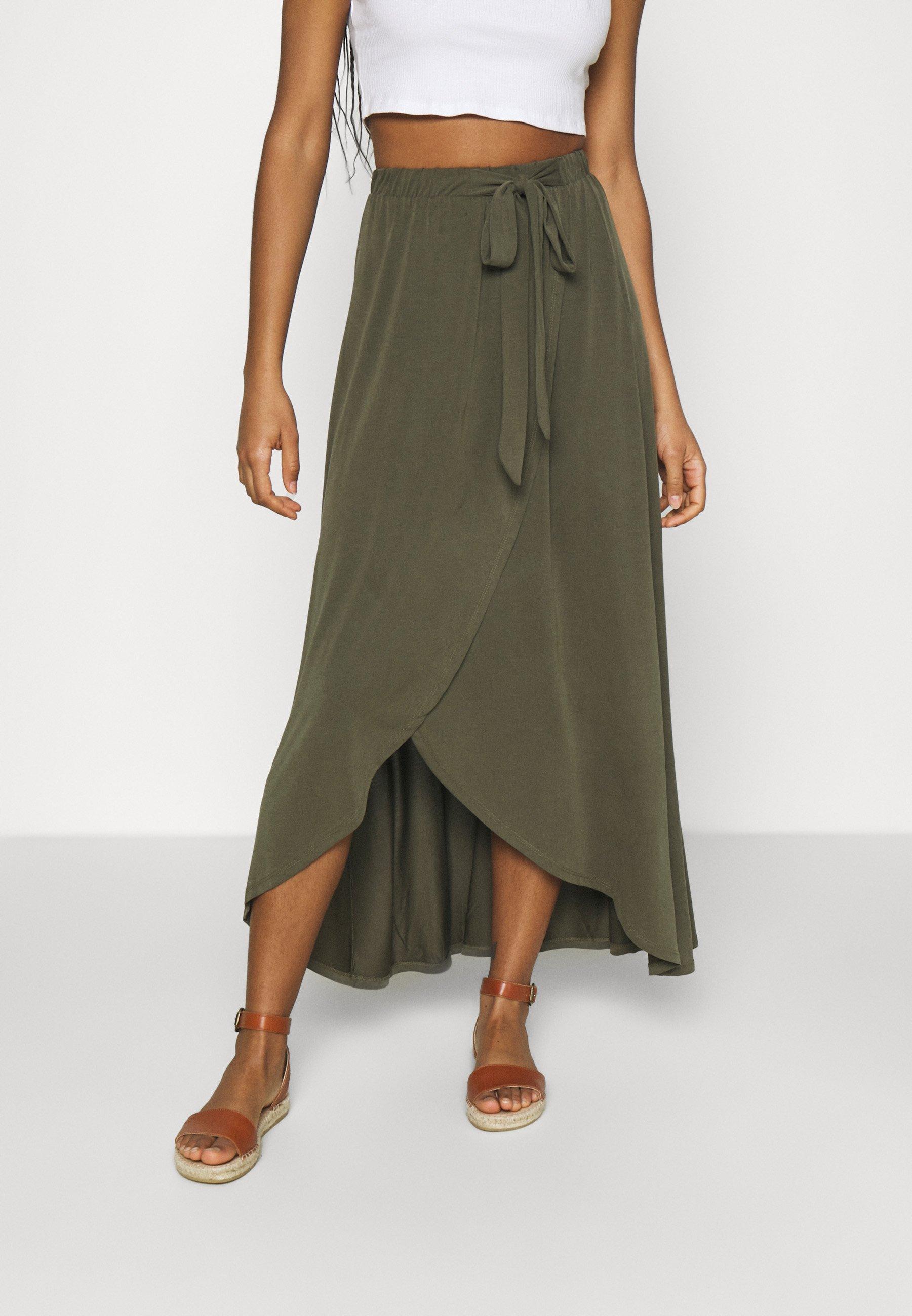Women OBJANNIE NOOS - Wrap skirt