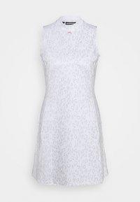 J.LINDEBERG - PRINT GOLF DRESS - Sports dress - grey/white - 0