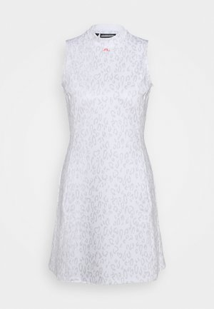 PRINT GOLF DRESS - Jurken - grey/white