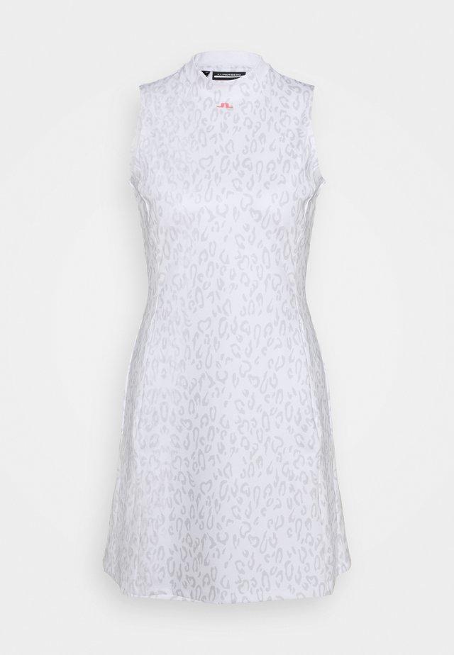 PRINT GOLF DRESS - Sportkleid - grey/white
