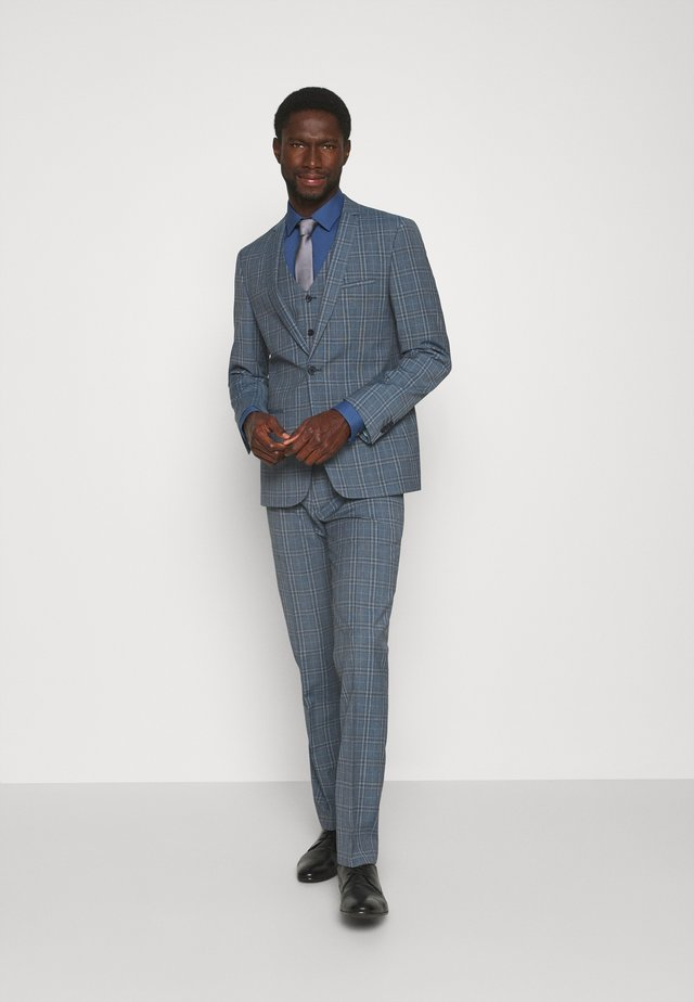 NOAH 3PCS SUIT - Suit - mid blue