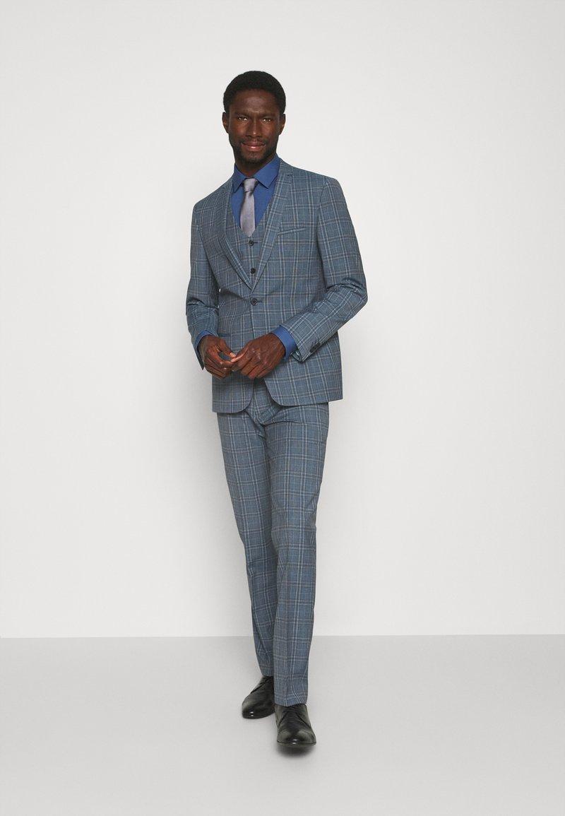 Viggo - NOAH 3PCS SUIT - Kostym - mid blue