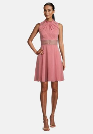 Cocktail dress / Party dress - pink rose