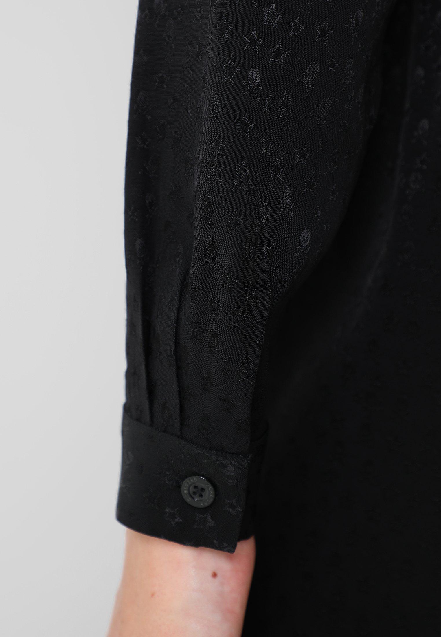 Scalpers Skull Star Dress - Korte Jurk Black