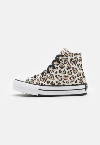 CHUCK TAYLOR ALL STAR LIFT UNISEX - Sneakers alte - driftwood/black/white