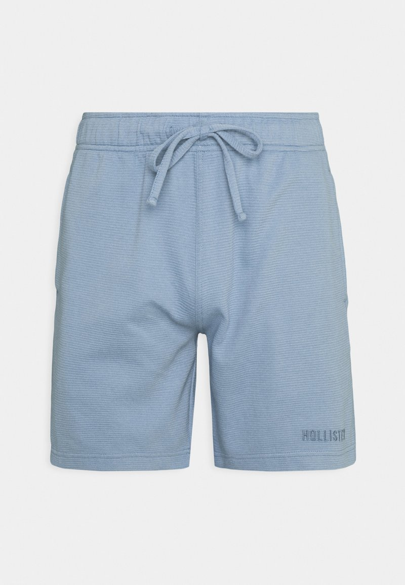 Hollister Co. - LOUNGE BOTTOM OTTOMAN SHORTS - Pyjama bottoms - faded denim