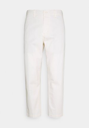 STRAGGLER FLOODED PANTS - Trousers - sago