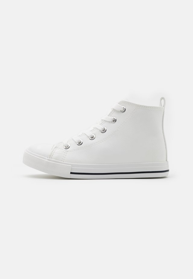 CLASSIC LACE UP UNISEX - High-top trainers - white smooth