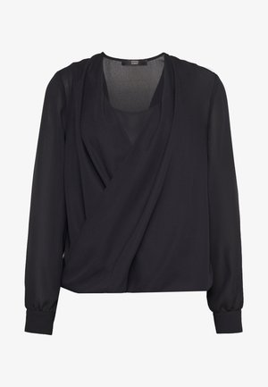 CHARLOTTE LAYER BLOUSE - Blouse - black