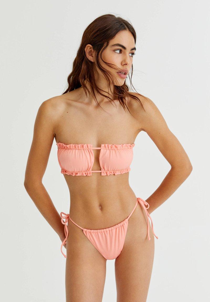 PULL&BEAR - Bikini top - coral