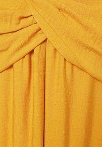 Banana Republic - STRAPPY TWIST FRONT MIDI - Vestito estivo - golden yellow - 2