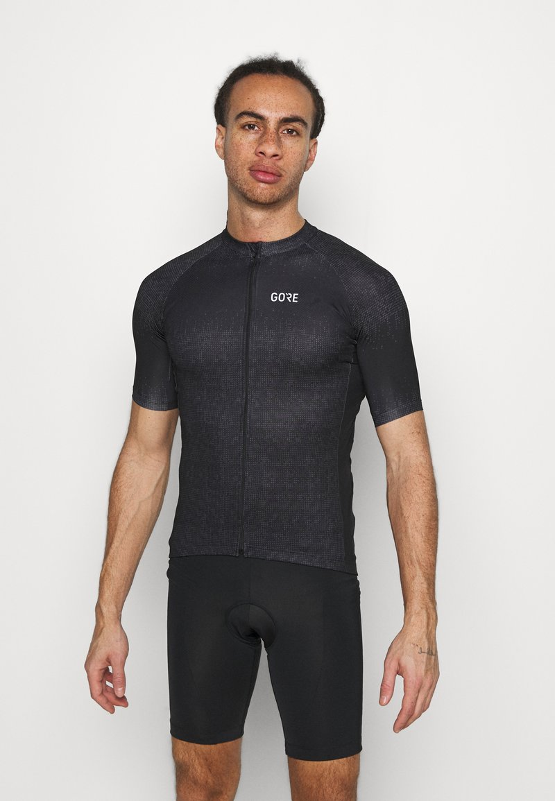 Gore Wear - GORE® WEAR MAGIX MENS - Print T-shirt - black