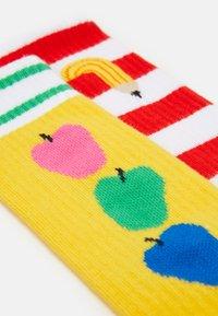 Happy Socks - KIDS SOCK UNISEX 2 Pack - Socks - yellow/red - 1