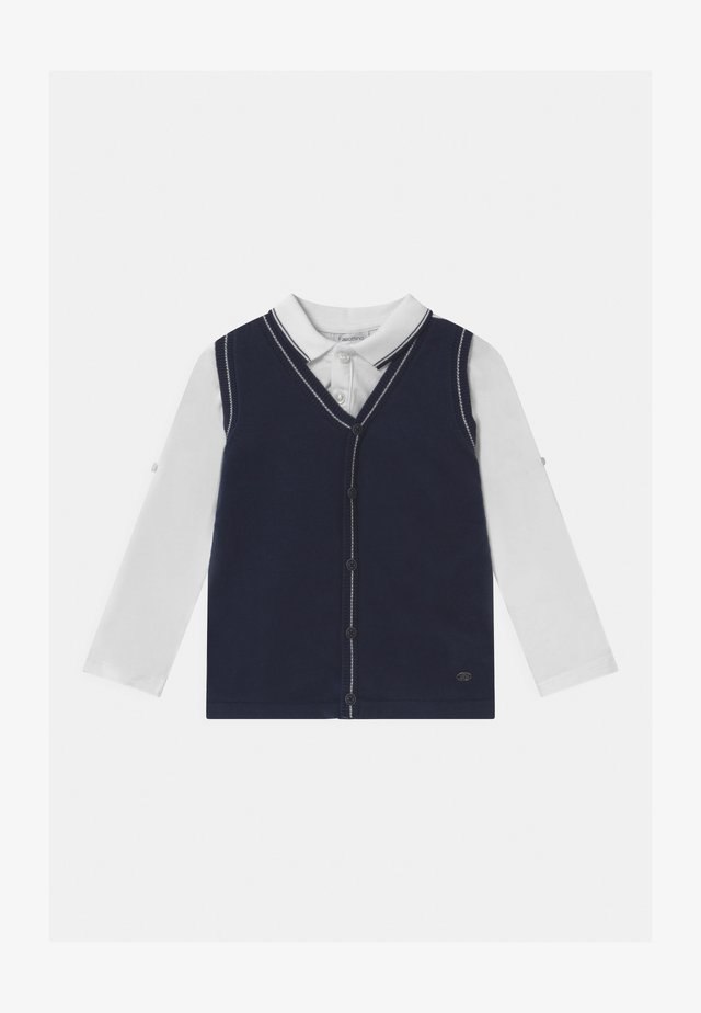 GILET - Poloshirt - brilliant white