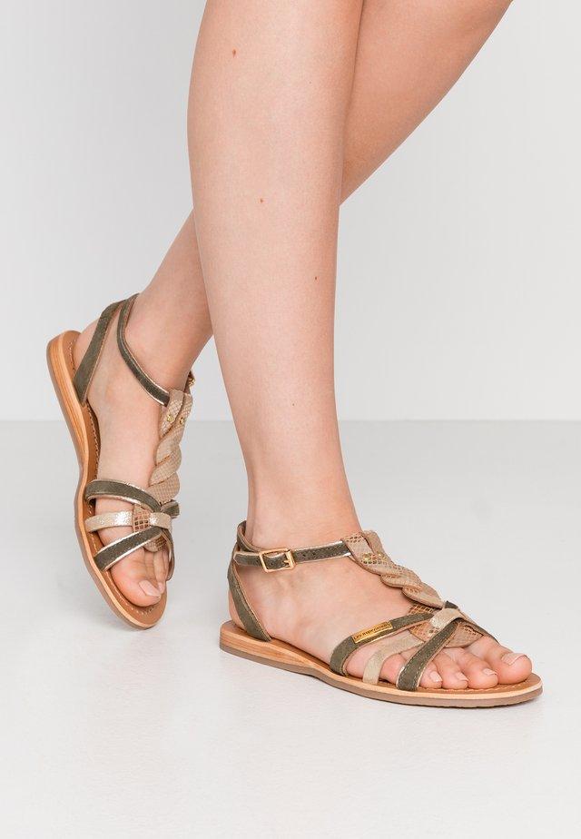 HAMUC - Sandály - kaki