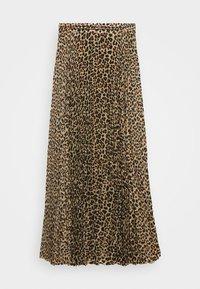 Birgitte Herskind - NESSA LONG SKIRT - A-line skirt - brown - 3