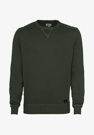 Sweatshirt - leaf green