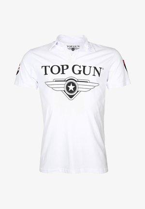MODERN MOON - Poloshirt - white