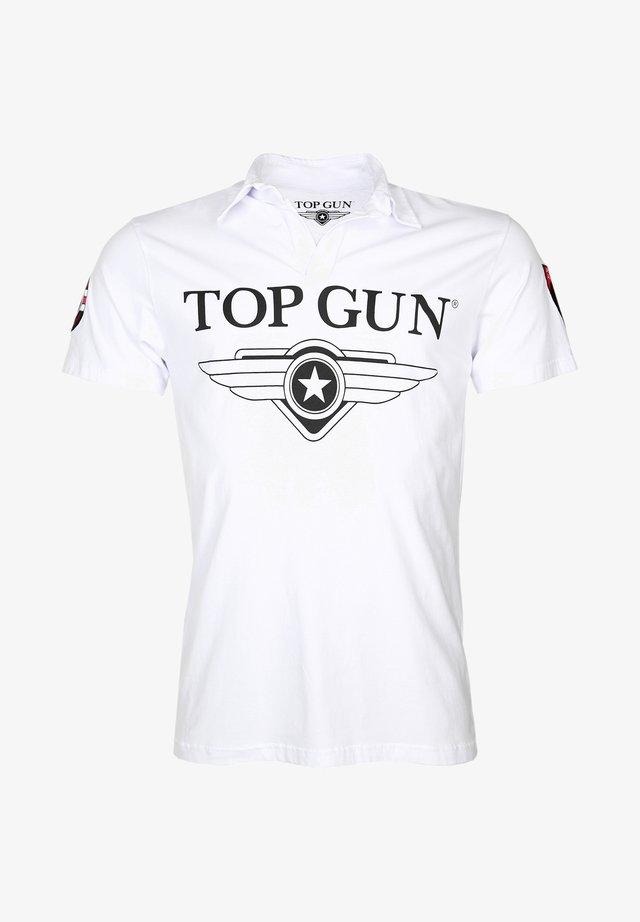 MODERN MOON - Polo shirt - white