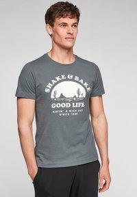grey good life print