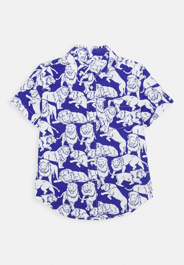 LION - Shirt - blue/ivory