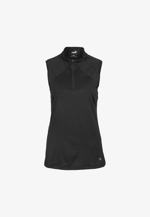 MOCK NECK - Sportshirt - black