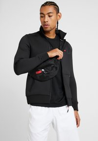 Fila - BELT BAG MARTIA - Bum bag - black - 1