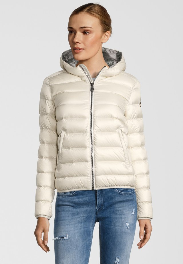Down jacket - ivory