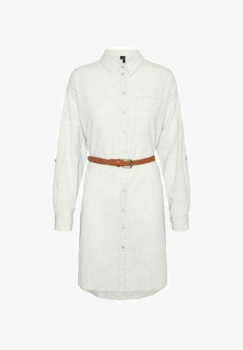 Vestido camisero - snow white