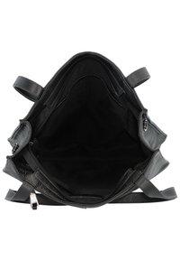 FREDsBRUDER - MELFI SCHULTERTASCHE LEDER 33 CM - Handbag - black - 4