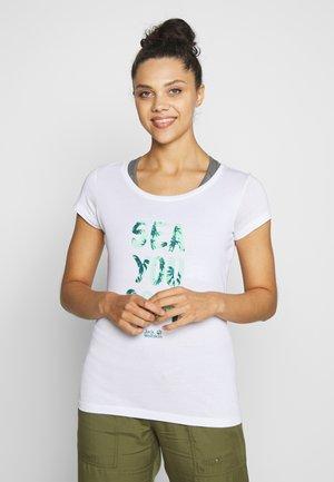 SEA YOU SOON  - Print T-shirt - white rush