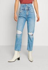 River Island - Slim fit jeans - light wash - 0