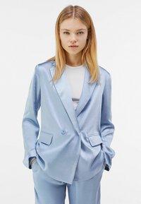Bershka - Blazer - light blue - 0