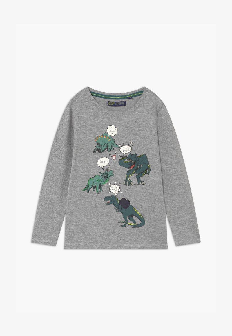 Lemon Beret - SMALL BOYS - Langærmede T-shirts - grey melange